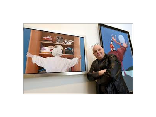 Tour Charles Pachter's MOFO Studio