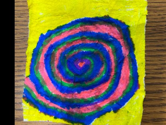 Downward Spiral, Artist: Debbie Bryant
