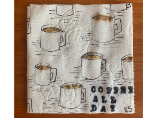 Coffee All Day, Artist: Erin Seickel