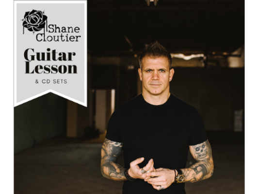 Shane Cloutier: Guitar Lesson & CD Sets