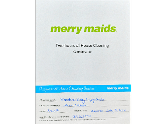 Two Hours of House Cleaning from Merry Maids