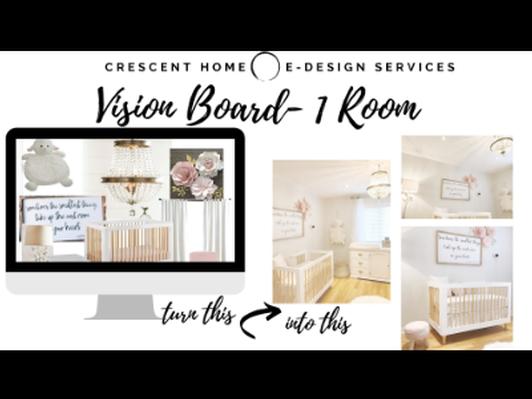 Room Design Vision Board