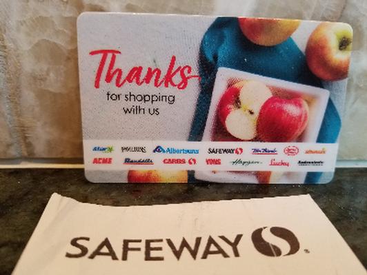Safeway $25 gift card