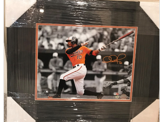 Adam Jones Autographed Photograph
