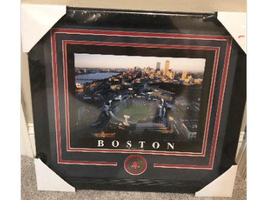 Framed Fenway Park Photograph