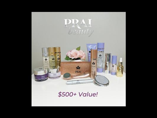 PRAI Beauty Gift Basket