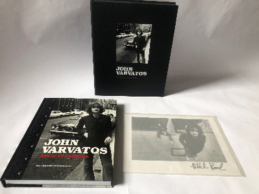 """John Varvatos Autographed Limited Edition Book, """"Rock in Fashion"""""""