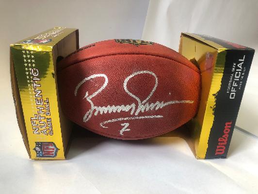 Boomer Esiason Autographed Football