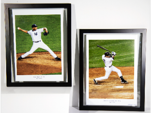 Derek Jeter and Mariano Rivera Final Action prints