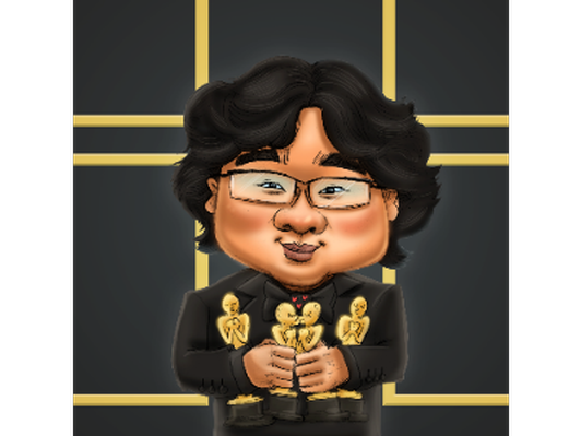 Digital Caricature by Wilfred Lee