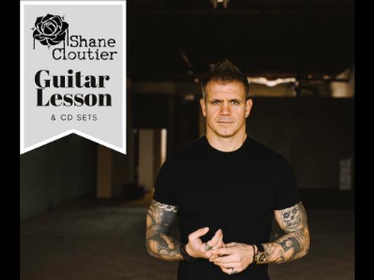 Guitar Lessons w/ Shane Cloutier