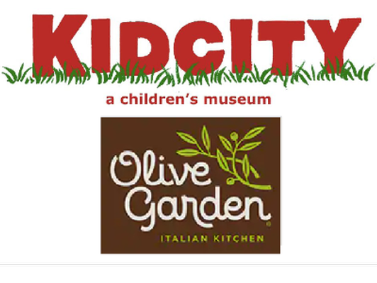 Gift Card to Olive Garden & Kid City Passes