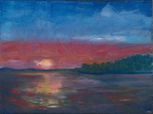'Just Past Blake Island' by Bernie Neff