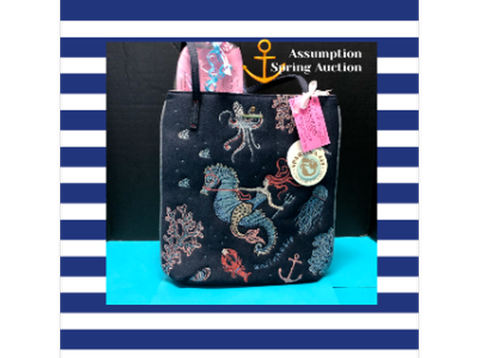 Tickled Pink Gift Card and Spartina Mermaid Tote,