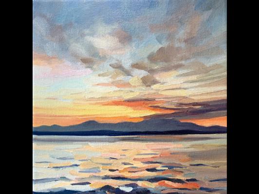 'Slow Burn II' by Kelly Johnston