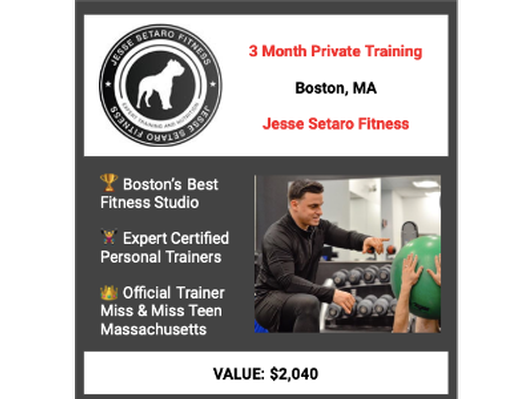 3 Months of Personal Training with Jesse Setaro Fitness