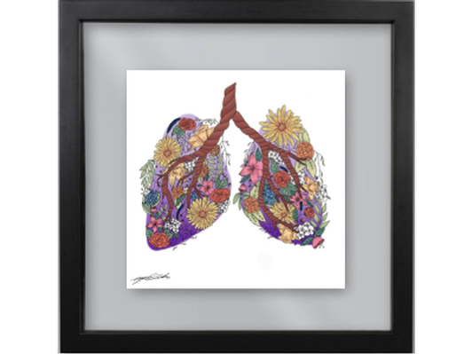 """Breathe"" - Custom Art Print Inspired by TVP"