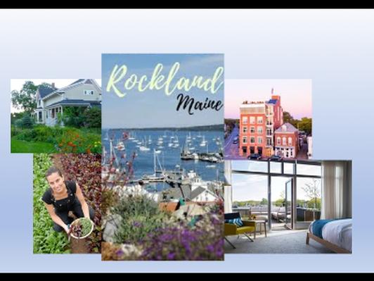Rockland Maine Getaway