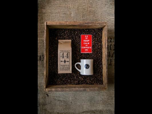 Deer Island's own 44 North Coffee