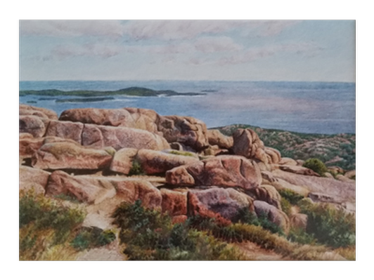 Cadillac View, Acadia by Janet Laird-Lagassee