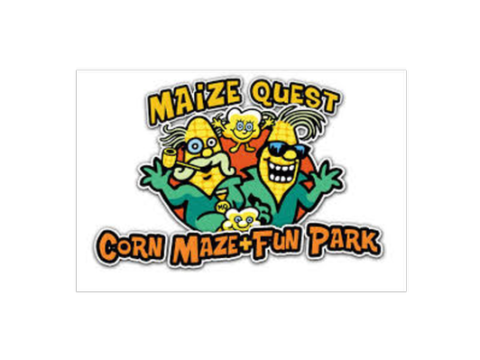 Maize Quest Corn Maze & Fun Park Outing for 8