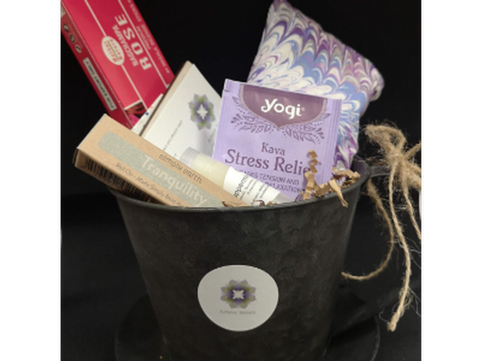 Authentic Wellness Gift Basket
