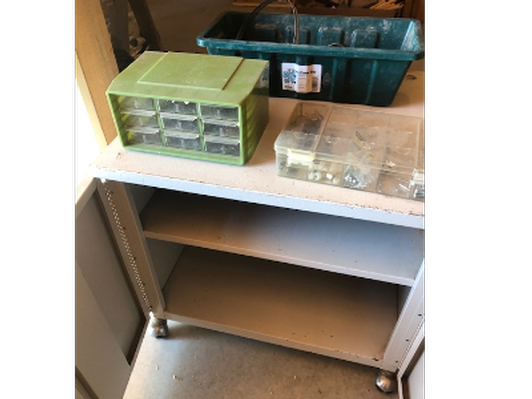 Shop Organizers and Tools Lot Collection