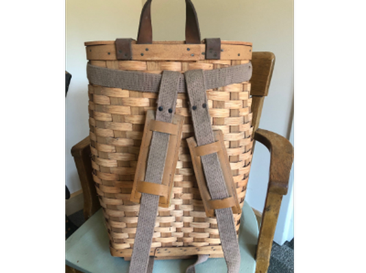Native American Hand-made Pack Basket