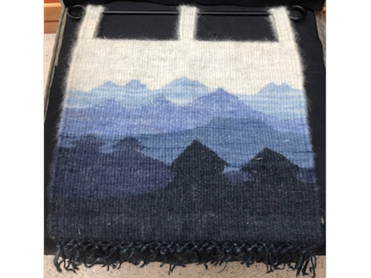 Blue Mountains Wool Tapestry (Lesotho)