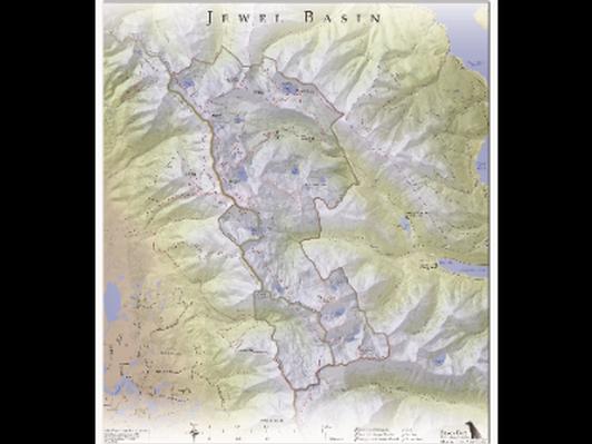 Custom Wall Map of Montana