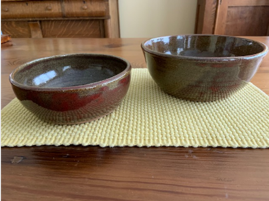 Two nesting bowls by Michelle Borodinsky