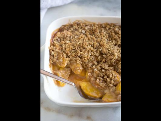 Rachel's Peach Cobbler