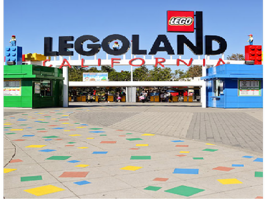 Four (4) Legoland Resort Hopper Tickets and gift items