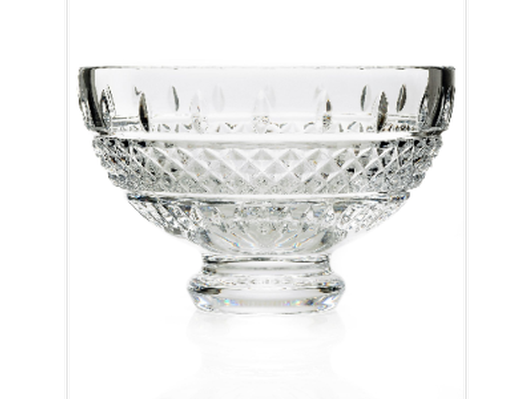 "Waterford Crystal ""Irish Lace"" Footed Bowl"