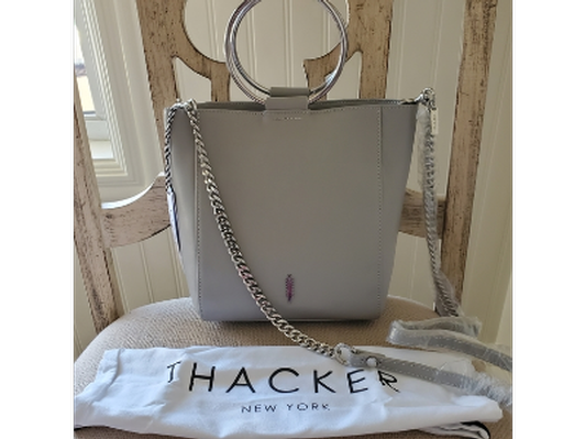 """Le Bucket"" Leather Handbag by Thacker"