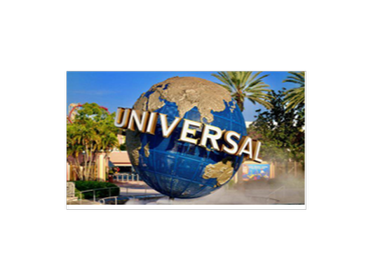Two (2) Universal Studios, Hollywood Admission Tickets