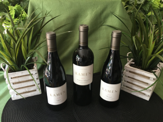 3 bottles of KAMEN's Finest Estate Grown Red Wines -  Biodynamic Bargain