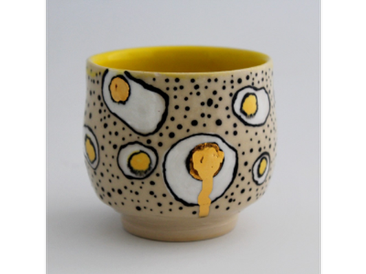 Drippy Egg Cup by Taylor Thames