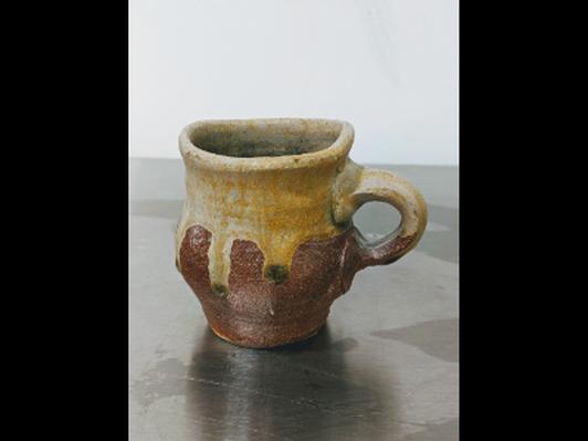 Wood-fired Salt Glazed Mug by Allison Severance