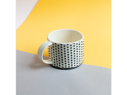 Dot Mug by Katie Burke