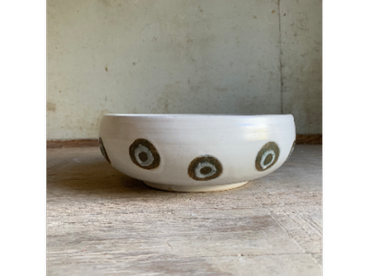 Bowl with Dots by Kathryn Pertisin