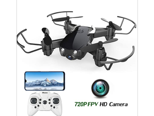 Mini Drone with 720P Camera for Kids and Adults