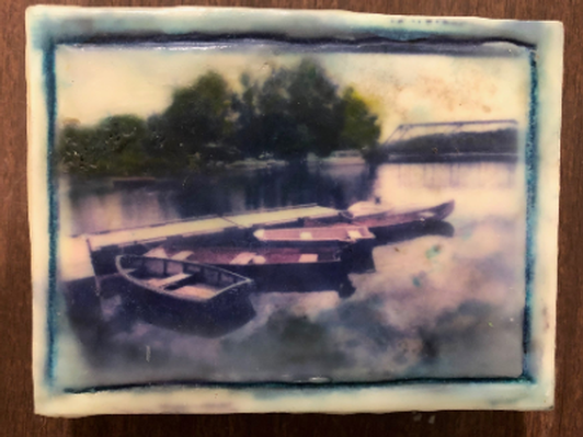 Boats at Rest by Jane Page-Conway