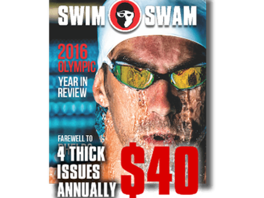 SwimSwam Magazine Annual Subscription