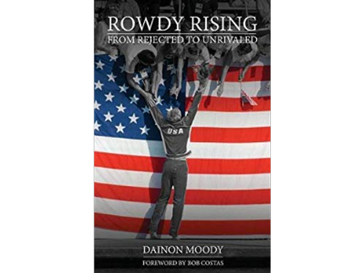 """Rowdy Gaines Autographed Autobiography: """"Rowdy Rising"""""""