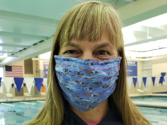 Handmade Swim-Themed Masks (Pack of 5)
