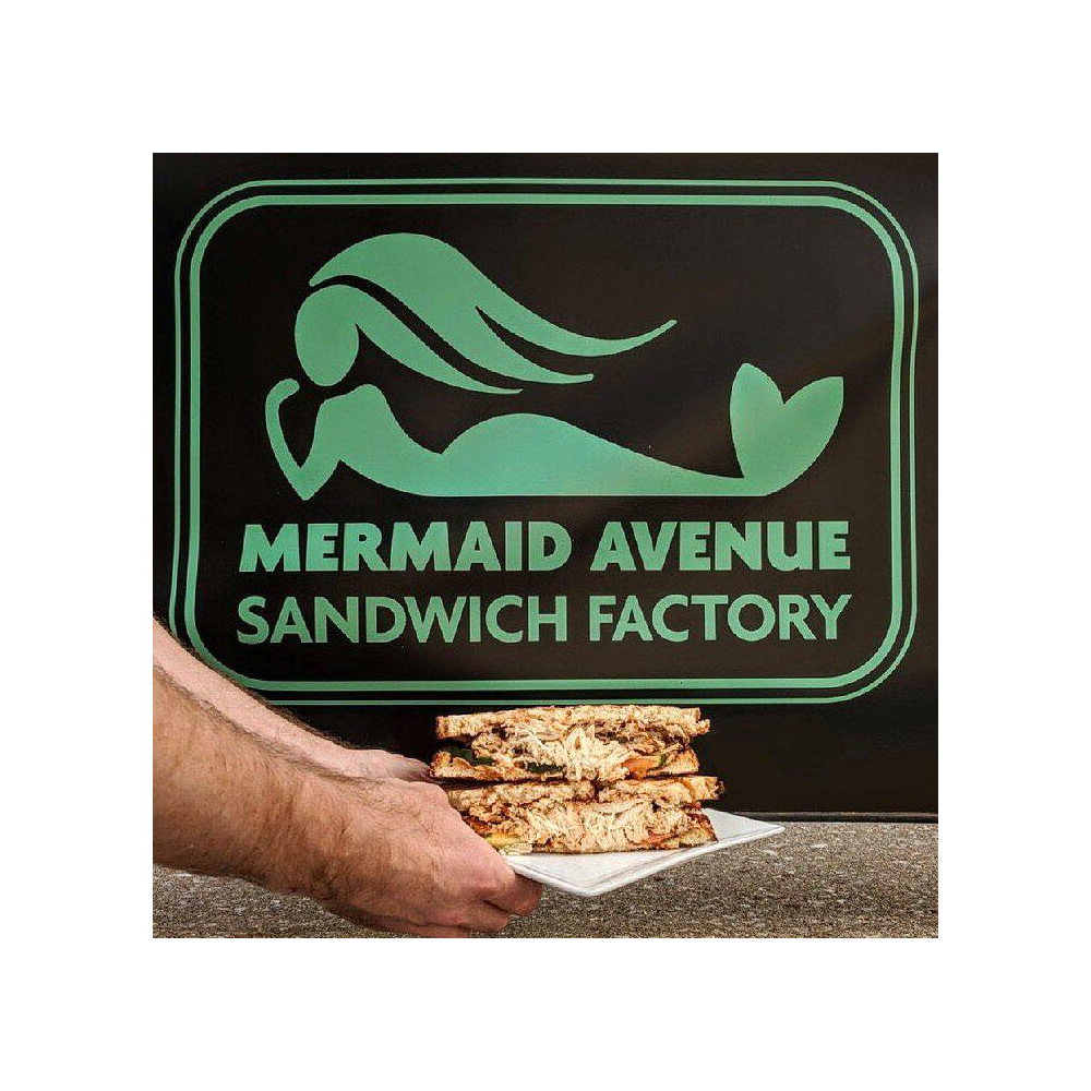 $25 gift certificate donated by Mermaid Avenue Sandwich Factory