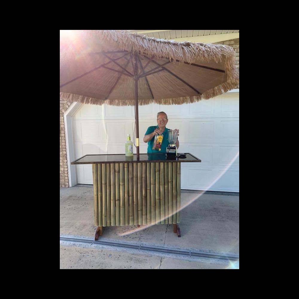 Tiki Bar & Umbrella