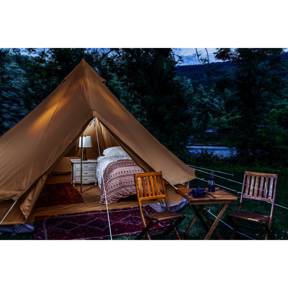 Riverside Glamping for two