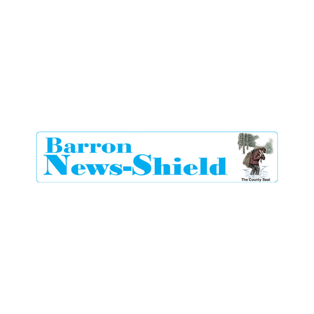 One year subscription to the News Shield, Barron, WI